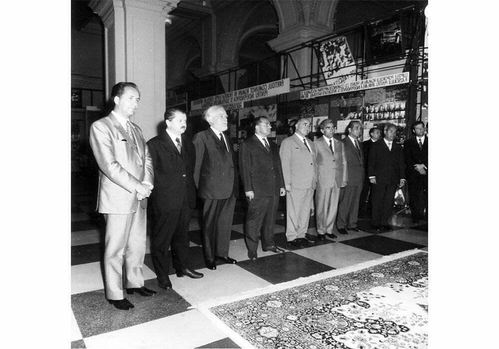 Inaugurarea Muzeului de Istorie a RSR. 1972