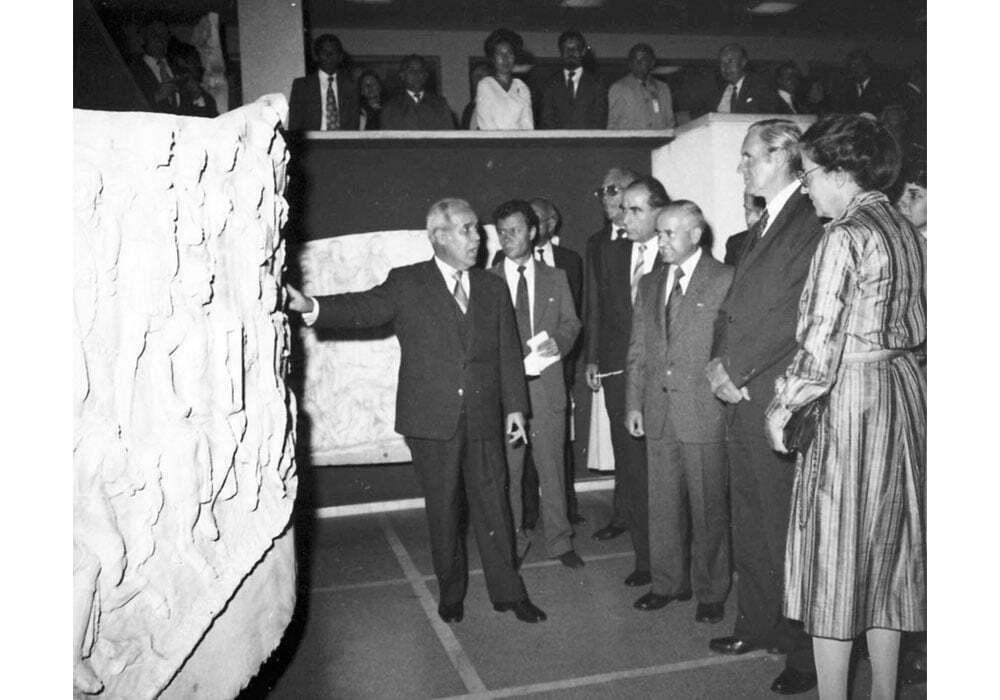 Presedintele RFG Karl Karstens la MIRSR. 1981