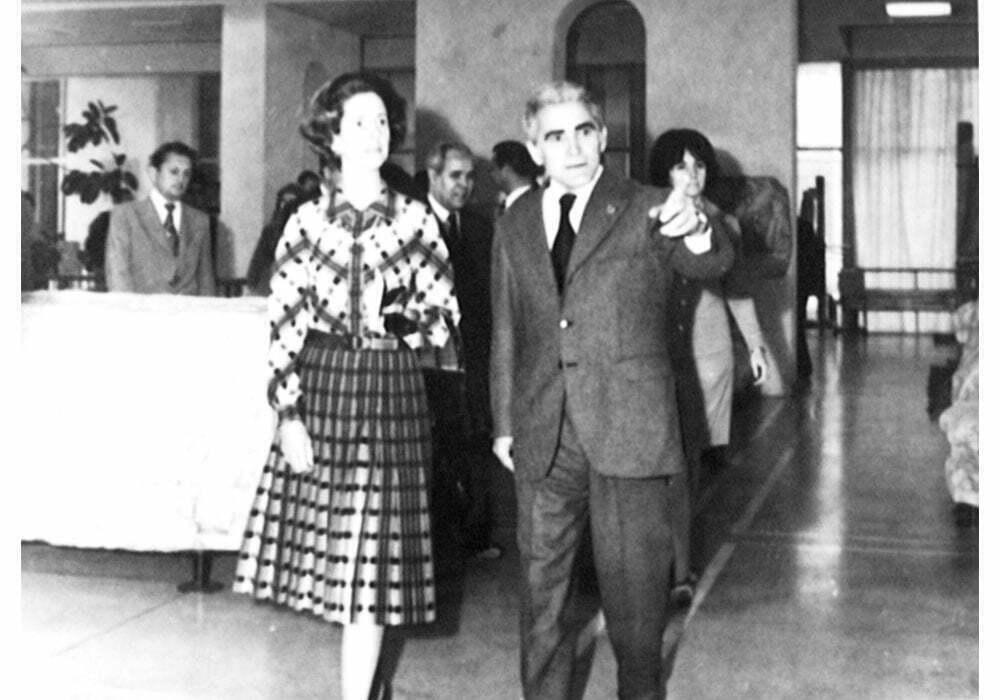 Vizita Reginei Fabiola la MIRSR. 1976