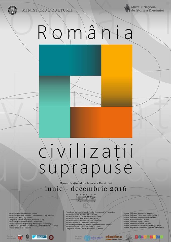 """Extinderea perioadei de vizitare a expoziției temporare """"România – civilizații suprapuse"""""""
