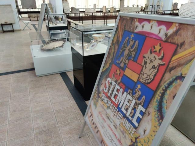 Micro-expoziția, Stemele Principatelor Unite